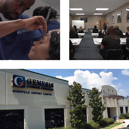 Students learning at Genesis