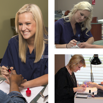 Images from Genesis Nail Technician program